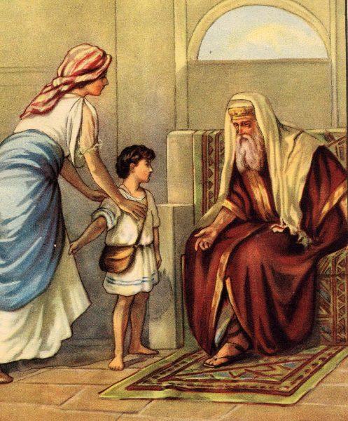 San Giovanni Battista da bambino