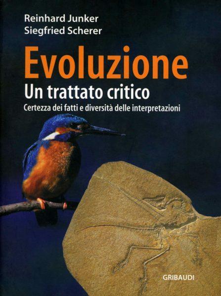 Copertina del libro: Evoluzione un trattato critico di Reinhard Junker e Siegfried Scjerer