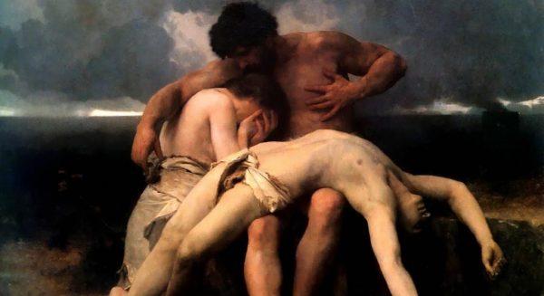 La morte di Abele, il primo lutto