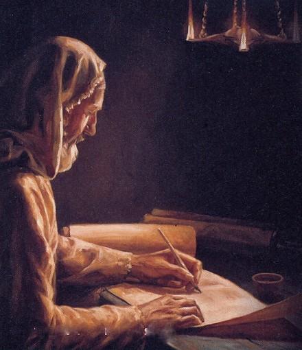 Genesi, scriba