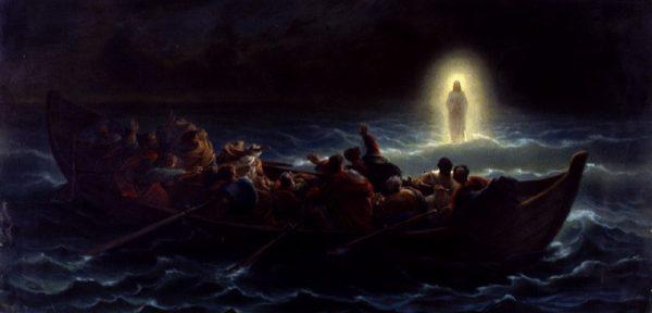 Gesù sulle acque
